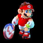 Mario Tennis Pose