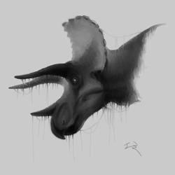 Triceratops by Mirroraptor