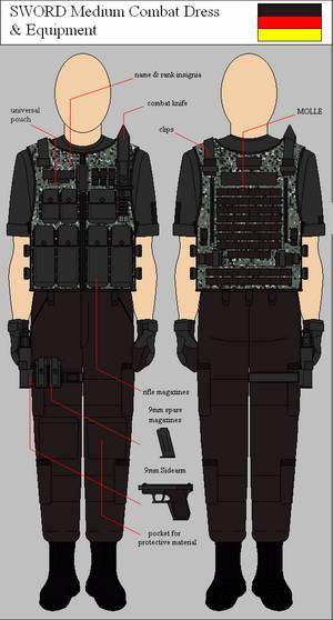 SWORD Medium Combat Dress