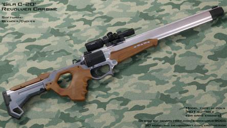 'Gila' revolver carbine - longer version
