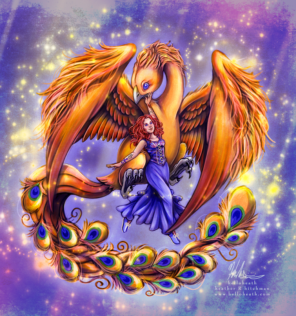 My Phoenix and Me by helloheath