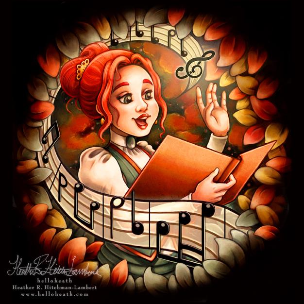 Thalessa Sings by helloheath