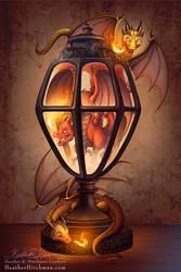The Dragon Lantern by HeatherHitchman