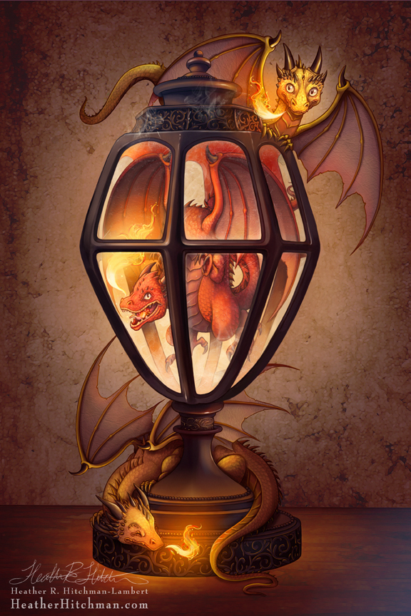 The Dragon Lantern by HeatherHitchman