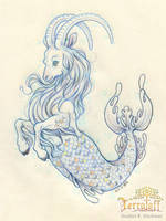 Mermay 2017 #4 The Capricorn by HeatherHitchman