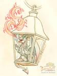Smaugust 2017 #1 Dragon Lantern2
