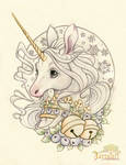 SugarPlum Unicorn Holiday Design