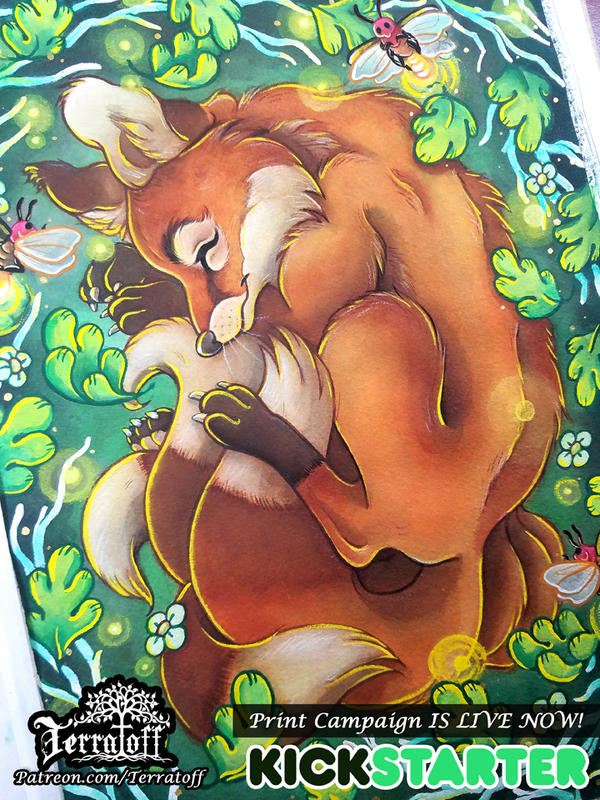The Dreaming Kitsune Kickstarter by HeatherHitchman