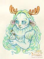 MarchOfTheFauns #3 Princess Nema by HeatherHitchman