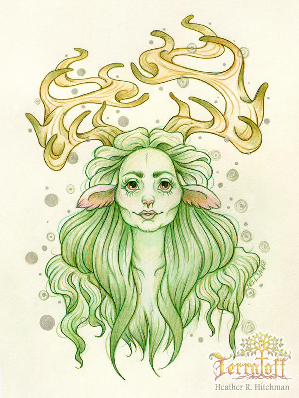 MarchOfTheFauns #7 Odine Before by HeatherHitchman