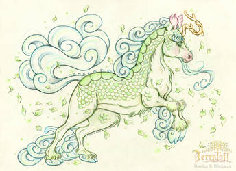 The Crystal Kirin by HeatherHitchman