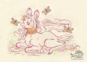 Sarah's Unicorn by HeatherHitchman