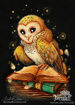 Witta The Owl Painting