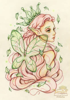The Strawberry Summer Seelie Fae