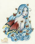 The Unseelie Mourning Cloak Fae