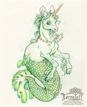 Mermay Tail Tutorial with Heather R Hitchman of Te