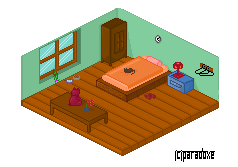 Pixel isometric by Sinceritta