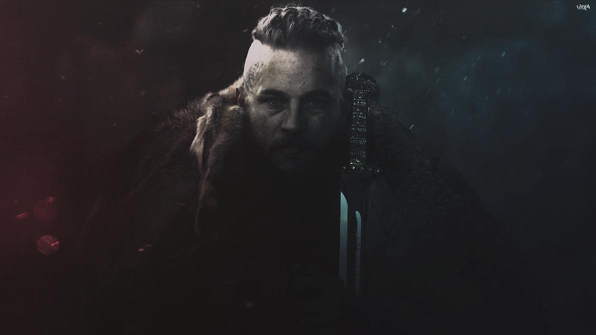 Ragnar Lothbrok Wallpaper By Cigall