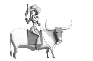 cowtown by CH3CHE