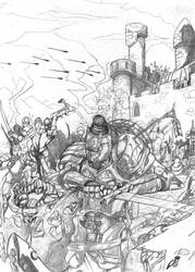 Lord Soth pencils by cmalidore