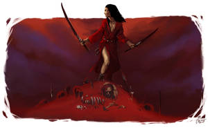 Her Sea of Blood by cmalidore