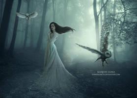 Day of Ghosts by KarelysLuna