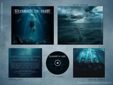 Elements of Fear - 4 panel digipak Album Art