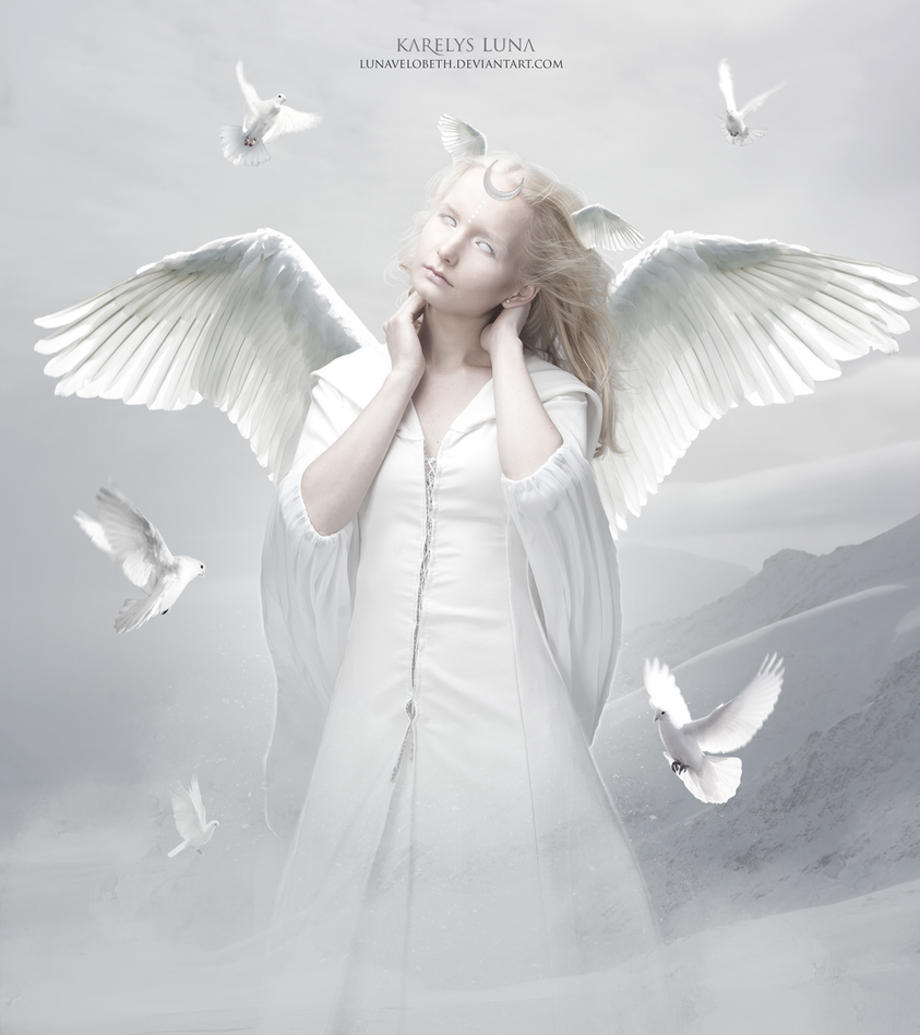 Divine Wings of Serenity by LunaVelobeth