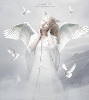 Divine Wings of Serenity by KarelysLuna