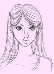 Sketch:Dollface Darling 032011 by sugarhighstudios