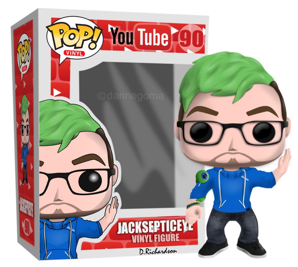 Pop Vinyl Youtube Jacksepticeye 2nd Edition By
