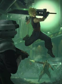 Final Fantasy 7 Remake Fan Art
