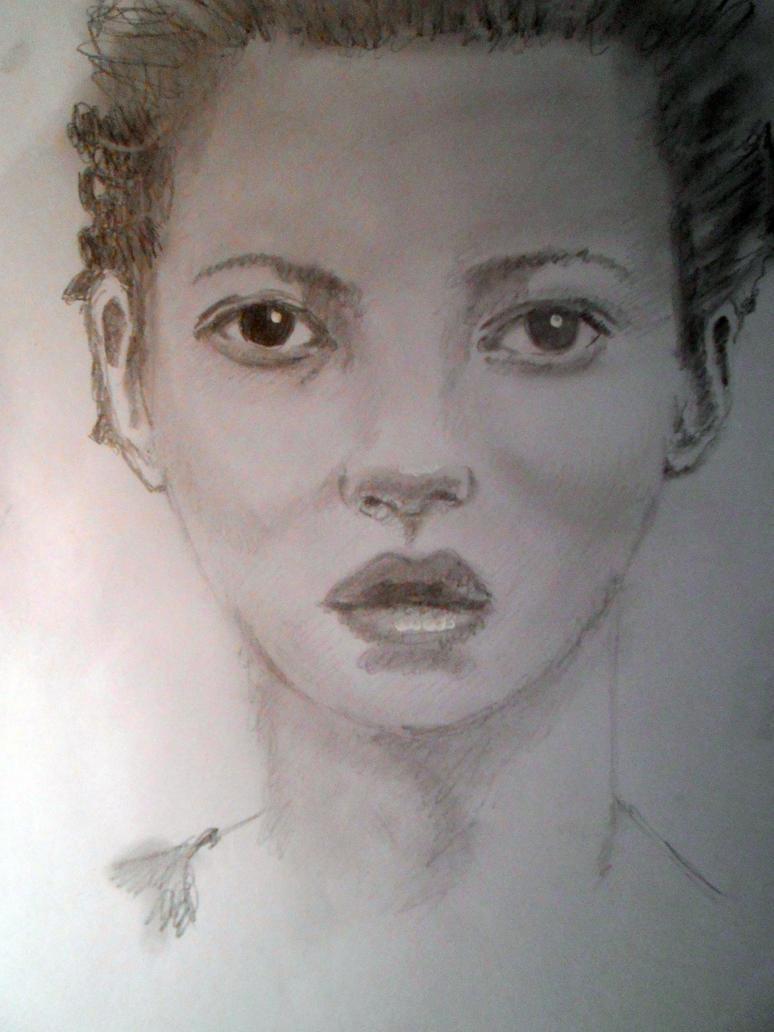 Kate Moss by grandlait