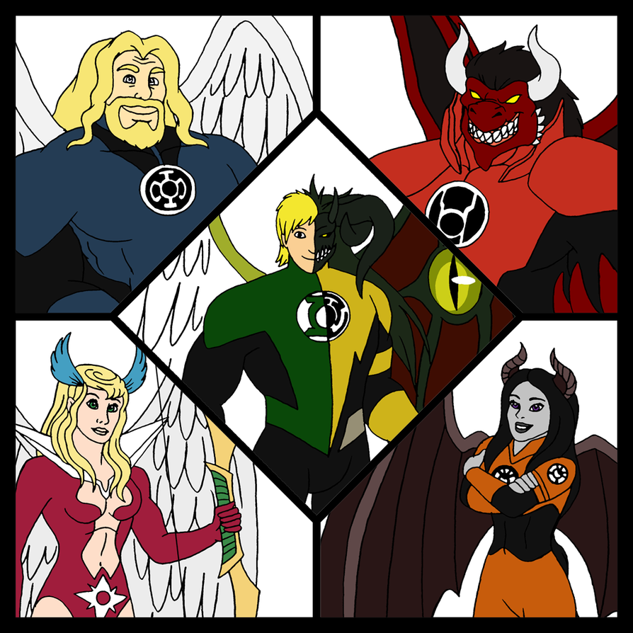 the lanterns of good and evil by 7espada