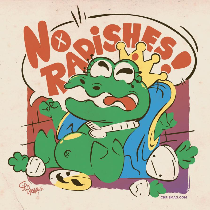 No Radishes! by Kobun04