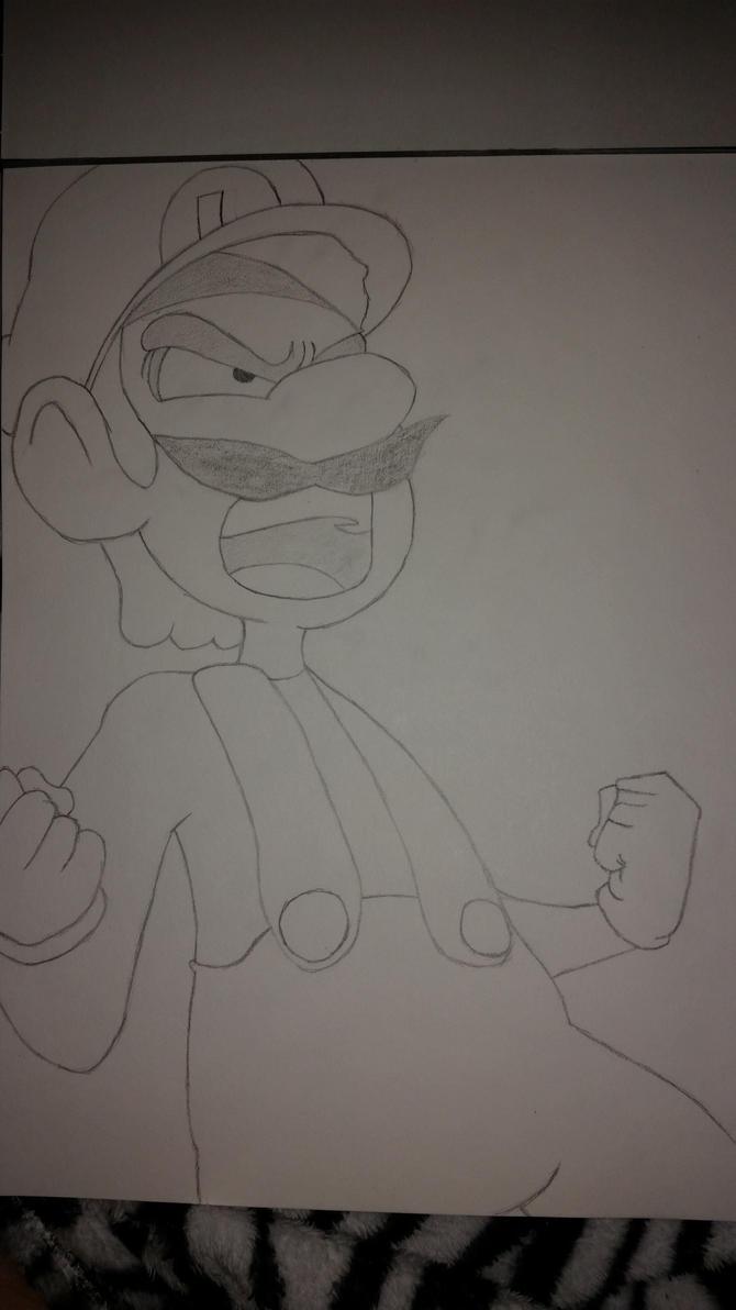 Luigi - Starbomb: Smash by mitch13815