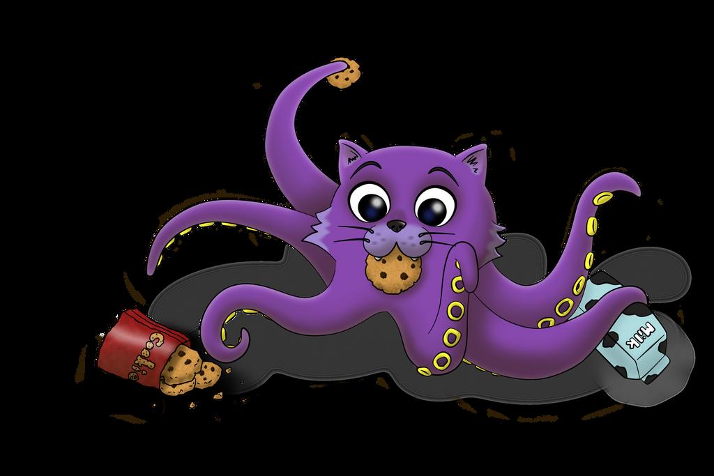 Octo-Kittie by Peach0815