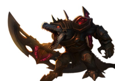 Renekton rendered by Raiichiro