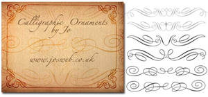 Calligraphic Ornaments Brushes