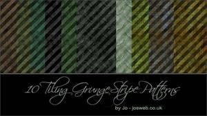 Tiling Grunge Stripe Patterns
