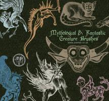 Mythological  Creatures by gojol23