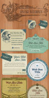 Vintage Web Boxes