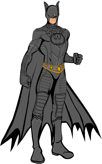 Batman - Sonar Batsuit (Batman Forever) by CaptainDutch