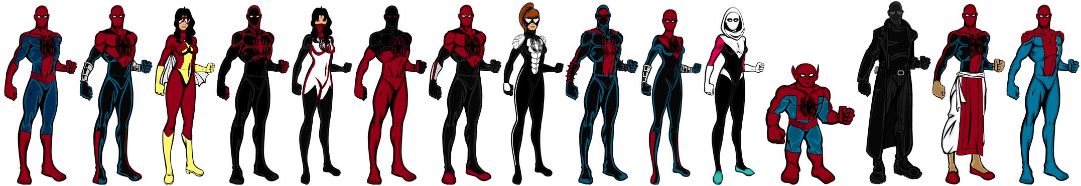 Spider-Army (Spider-Verse) by CaptainDutch