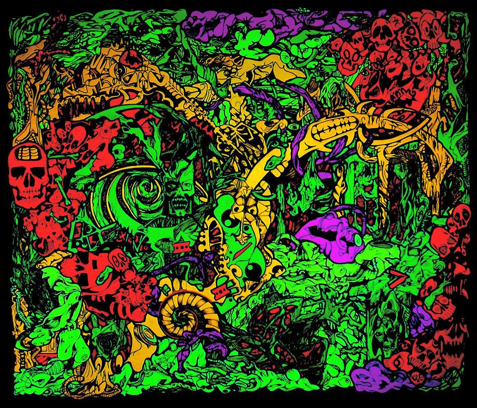 neon vs. hesperus 3 by MADCOCK666