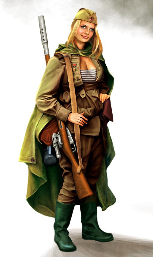 Grandes mujeres de la segunda guerra mundial: URSS