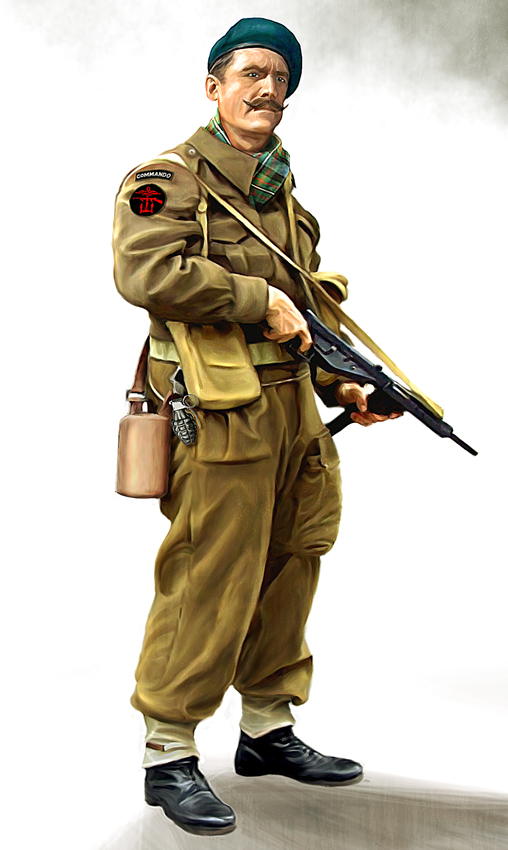 British commando by anderpeich