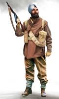 Sikh commando corporal