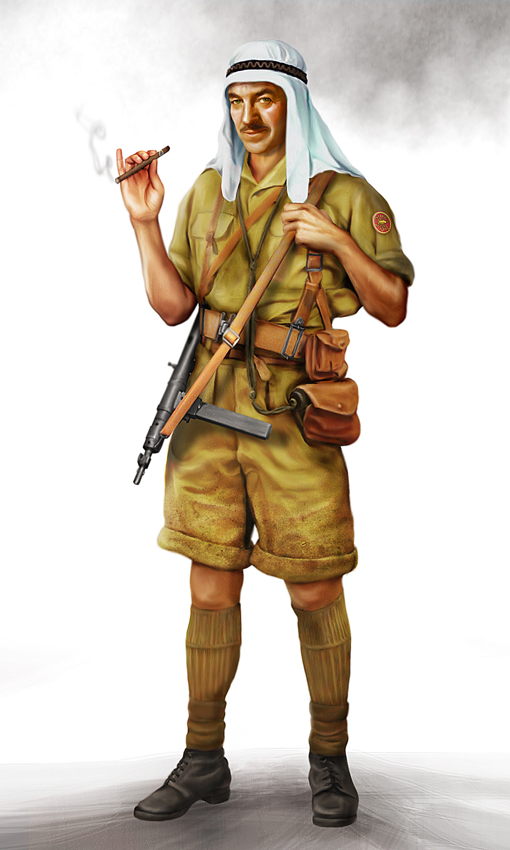 LRDG Captain by anderpeich
