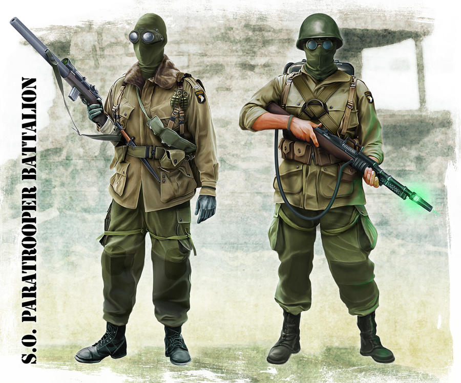 S.O. Paratrooper Battalion by anderpeich